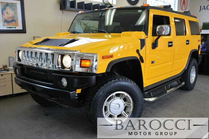 2004 HUMMER H2 Base 4WD 4dr SUV 4 Speed Auto Yellow Child Safety Door Locks Power Door Locks V