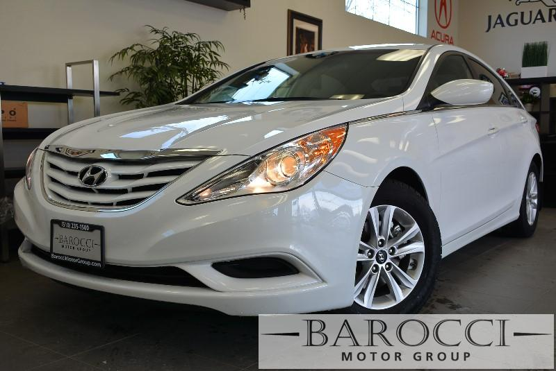 2013 Hyundai Sonata GLS 4dr Sedan 6 Speed Auto White Child Safety Door Locks Power Door Locks