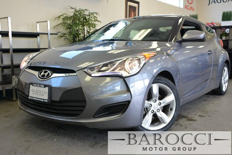 2013 Hyundai Veloster Base 3dr Coupe Automatic Gray Awesome car that is a blast to drive CD pla