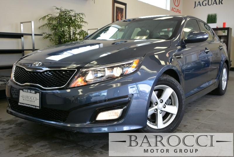2015 Kia Optima LX 4dr Sedan 6 Speed Auto Gray Child Safety Door Locks Power Door Locks Vehicl