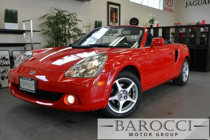 2003 Toyota MR2 Spyder Base 2dr Convertible Manual wSMG Red ABS 4-Wheel Air Conditioning AM F