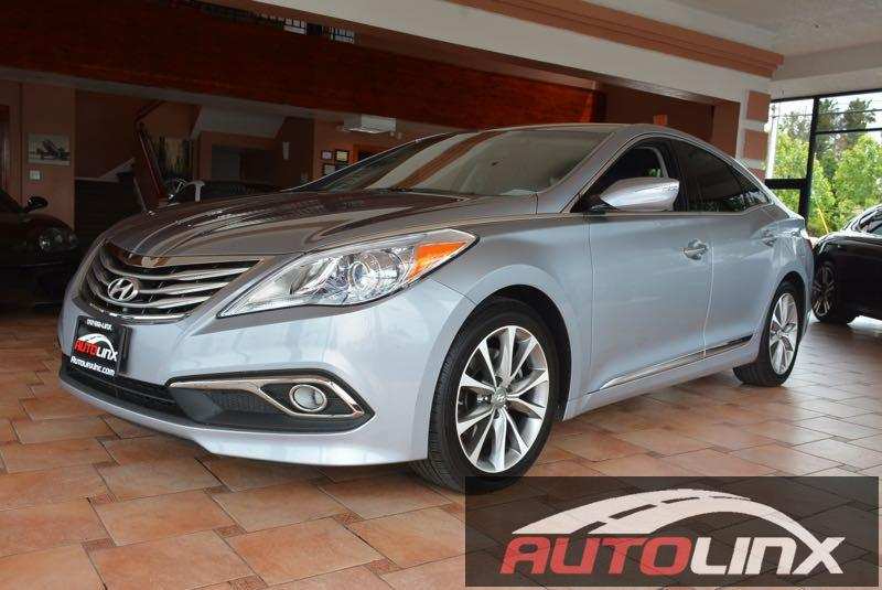 2015 Hyundai Azera 33L 6-Speed Automatic Gray Gray Gray Leather GPS Nav Dont let the miles f