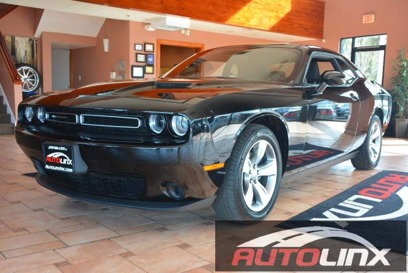 2015 Dodge Challenger SXT 5-Speed Automatic Black Black Accident free Carfax History One Owner