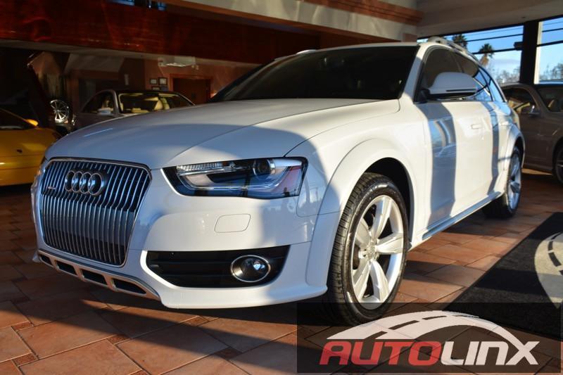2014 Audi allroad 20T Premium Plus quattro 8-Speed Automatic White Tan Navigation Accident fr