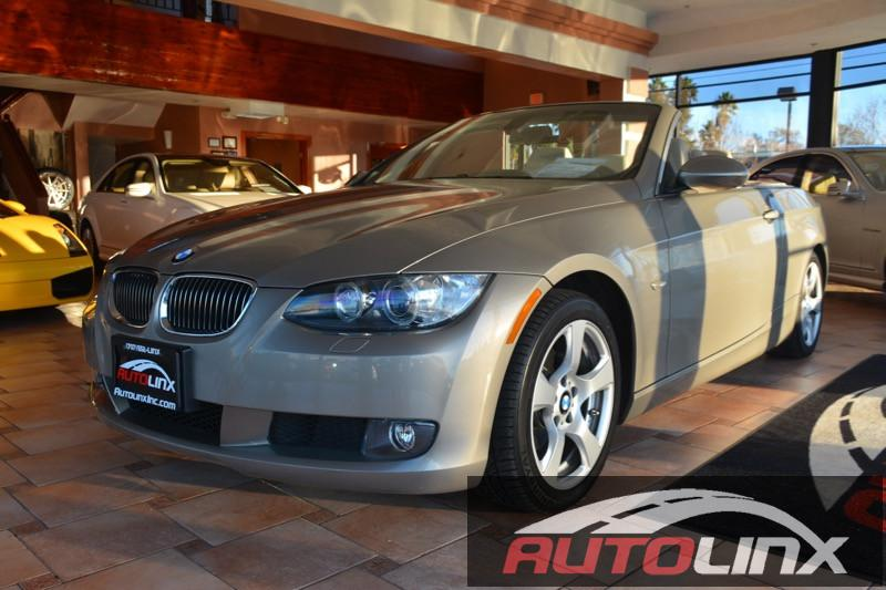 2009 BMW 3-Series 328i Convertible 6-Speed Automatic  Tan Tan Accident free Carfax History and