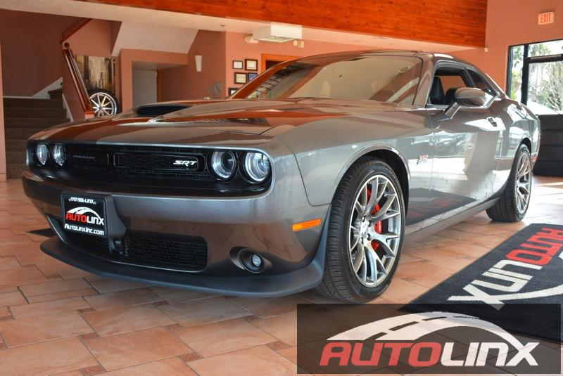 2015 Dodge Challenger SRT 392 P SRT 5-Speed Automatic  Gray Black Leather Seats Navigation Ac