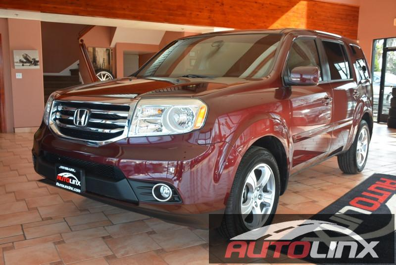 2013 Honda Pilot EX 4dr SUV Automatic 5-Spd wOverdrive Maroon Black Completely inspected and