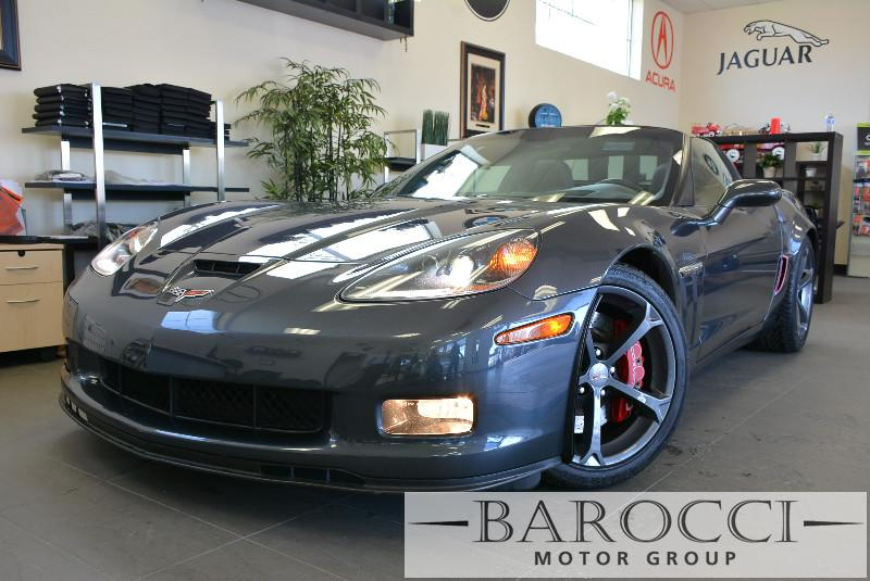 2012 Chevrolet Corvette Z16 Grand Sport 2dr Coupe w3LT 6 Speed Auto Gray ABS Air Conditioning