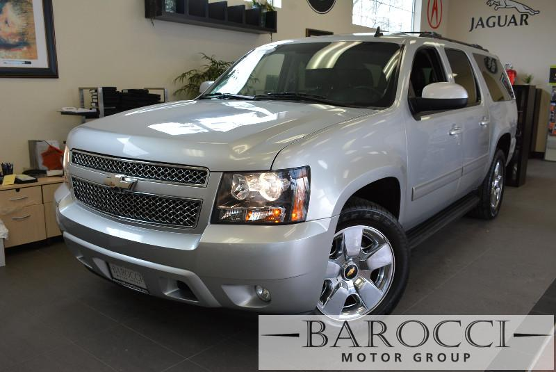 2013 Chevrolet Suburban LT 1500 4x2  4dr SUV 6 Speed Auto Silver ABS Air Conditioning Alarm A
