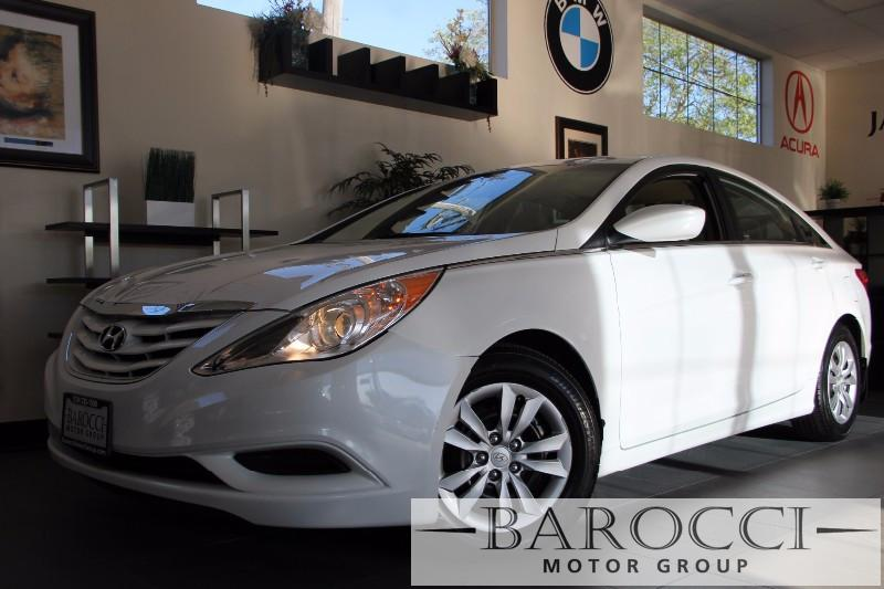 2014 Hyundai Sonata GLS 4dr Sedan 6 Speed Auto White Child Safety Door Locks Power Door Locks