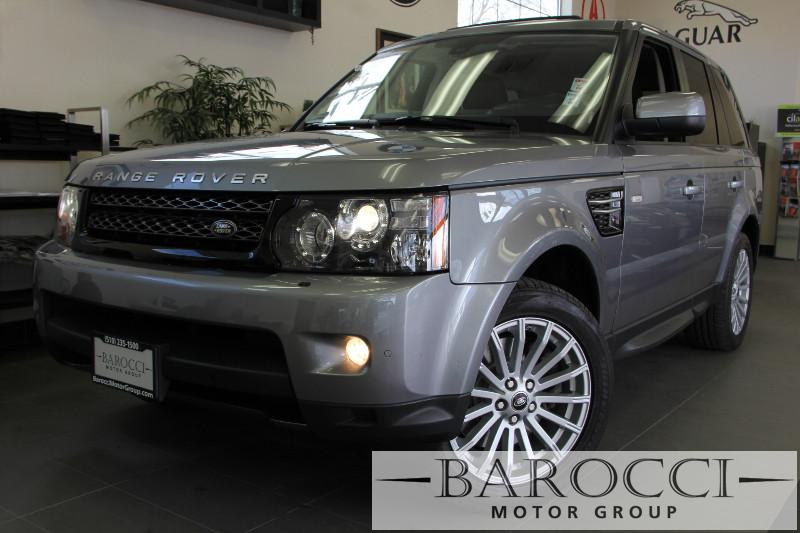 2013 Land Rover Range Rover Sport HSE-GT 4x4  4dr SUV 6 Speed Auto Gray Navigation Rear View C