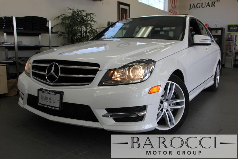 2014 MERCEDES C-Class C250 Luxury 4dr Sedan 7 Speed Auto White Child Safety Door Locks Power Do