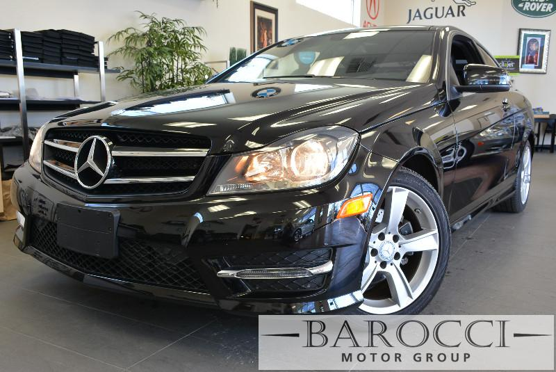 2014 MERCEDES C-Class C250 2dr Coupe 7 Speed Auto Black This beautiful One Owner car gets an est