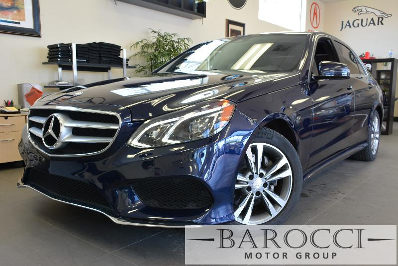 2014 MERCEDES E-Class E350 Luxury 4dr Sedan 7 Speed Auto Blue Traction Control Electronic Stabi