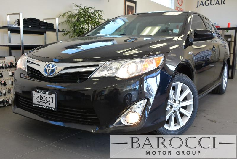 2012 Toyota Camry Hybrid LE 4dr Sedan Automatic cvt Black Air Conditioning Alarm Alloy Wheels