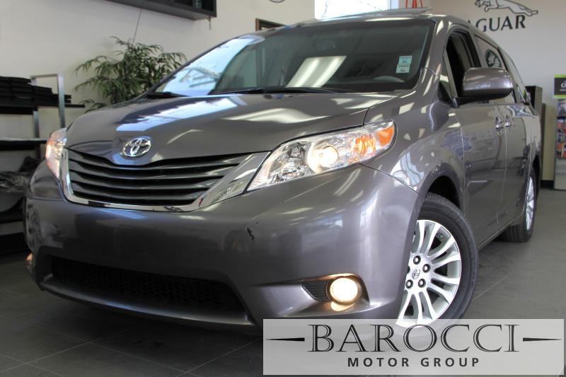 2014 Toyota Sienna XLE 8-Passenger 4dr Mini Van 6 Speed Auto Gray ABS 4-Wheel Air Conditioning