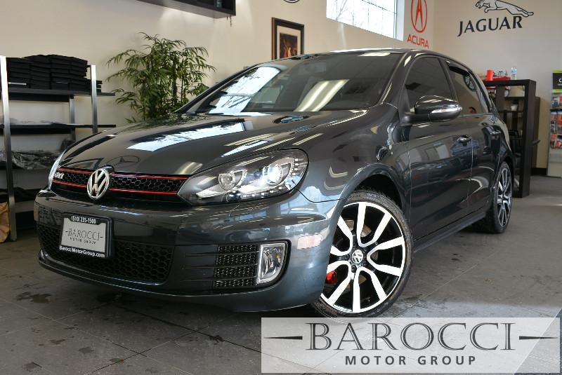 2012 Volkswagen GTI Base PZEV 4dr Hatchback 6A 6 Speed Auto Gray ABS Air Conditioning Alarm A