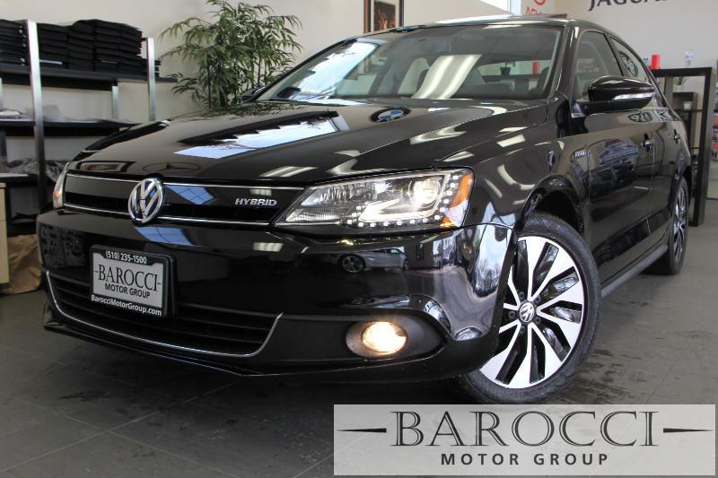2013 Volkswagen Jetta HybridSEL 4dr Sedan Automatic Black ABS Air Conditioning Alarm Alloy W