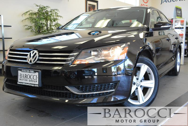 2012 Volkswagen Passat SE PZEV 4dr Sedan Automatic Black Air Conditioning Alarm Power Steering