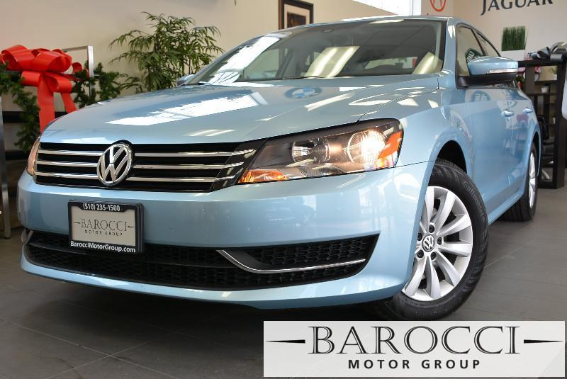 2013 Volkswagen Passat SE 4dr Sedan Automatic Lt Blue Air Conditioning Alarm Power Steering