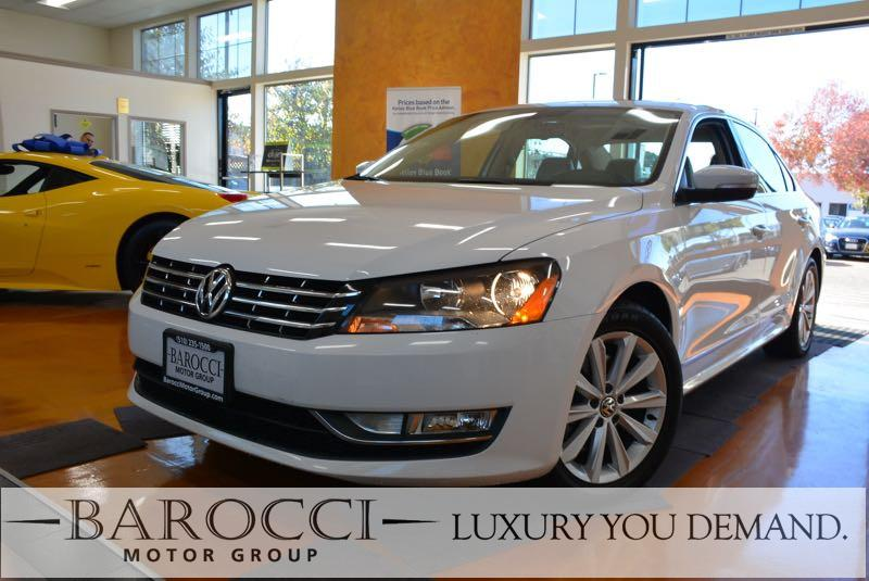 2013 Volkswagen Passat SEL 4dr Sedan 6 Speed Auto White Tan We are pleased to offer a beautiful