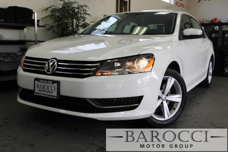 2013 Volkswagen Passat SE PZEV 4dr Sedan Automatic White Air Conditioning Alarm Power Steering