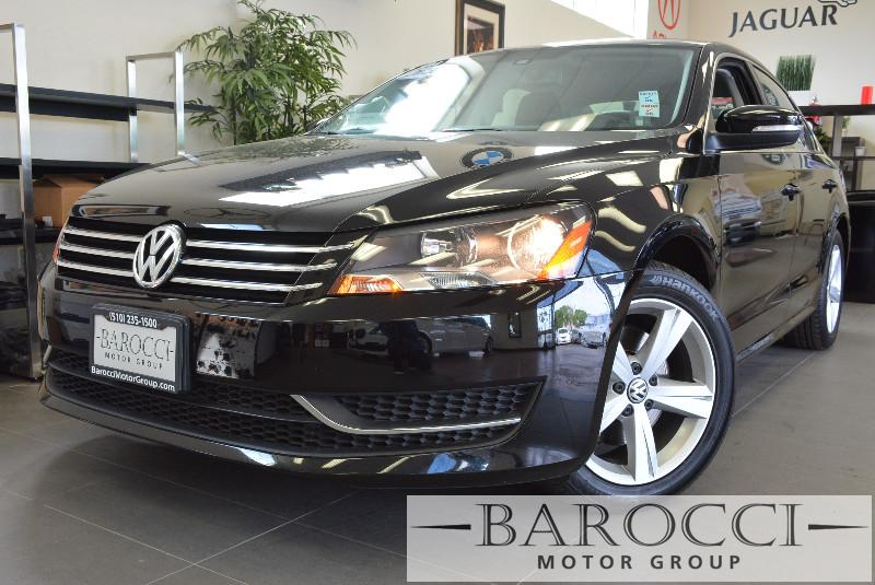 2013 Volkswagen Passat SE PZEV 4dr Sedan Automatic Black Air Conditioning Alarm Power Steering
