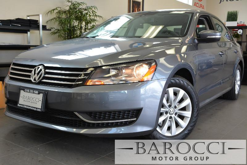 2013 Volkswagen Passat S PZEV 4dr Sedan Automatic Gray ABS Air Conditioning Alarm Alloy Wheel