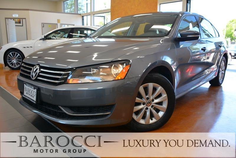2013 Volkswagen Passat S PZEV 4dr Sedan Automatic Gray Gray Now offering a super nice 2013 Volk
