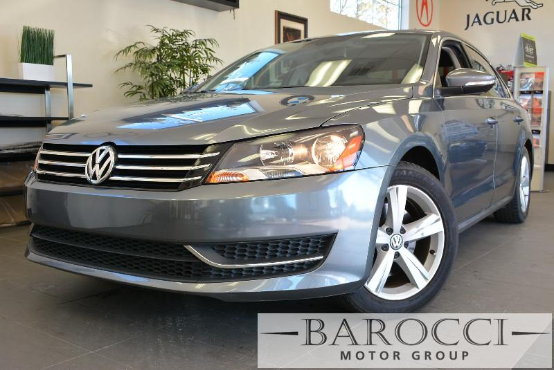 2013 Volkswagen Passat SE PZEV 4dr Sedan Automatic Gray Air Conditioning Alarm Power Steering