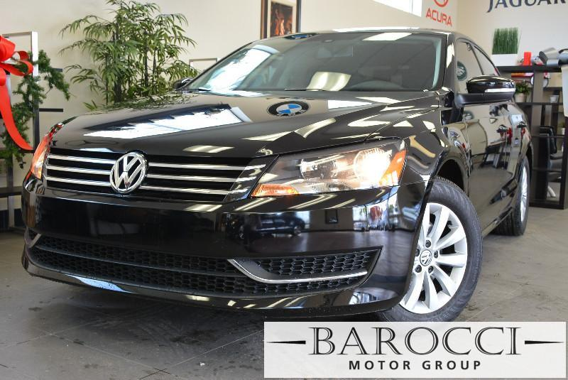 2013 Volkswagen Passat S PZEV 4dr Sedan Automatic Black ABS Air Conditioning Alarm Alloy Whee