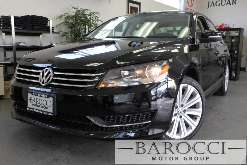 2013 Volkswagen Passat SEL PZEV 4dr Sedan 6A 6 Speed Auto Black ABS Air Conditioning Alarm Al