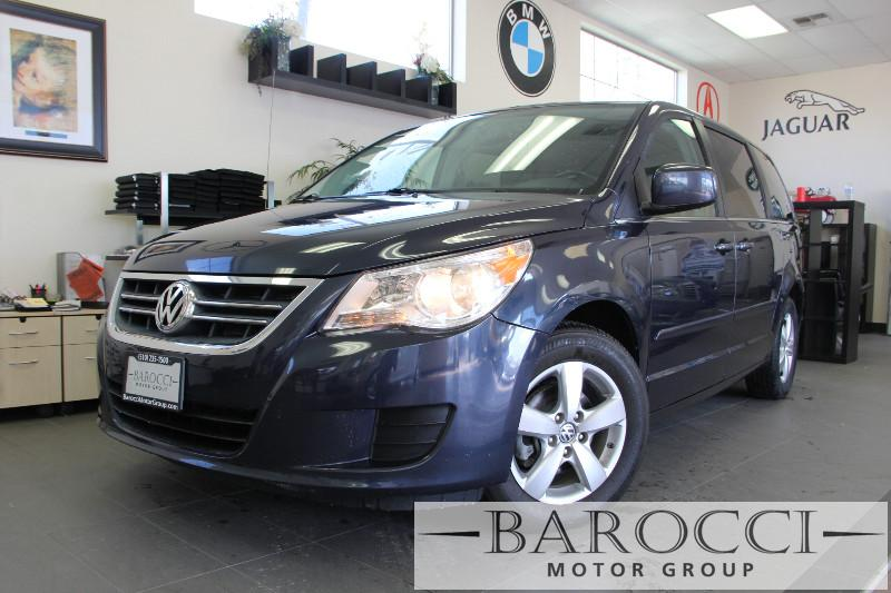 2009 Volkswagen Routan SEL 4dr Mini-Van 6 Speed Auto Dk Blue ABS Air Conditioning Alarm Allo