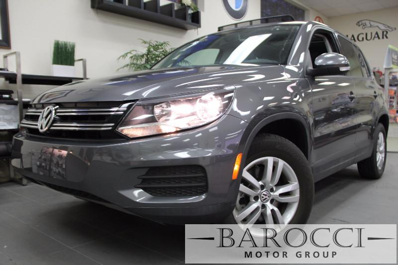 2012 Volkswagen Tiguan S 4Motion AWD  4dr SUV 6 Speed Auto Gray ABS Air Conditioning Alarm Al