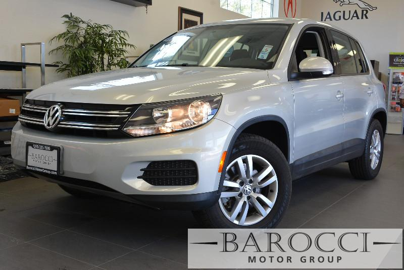 2012 Volkswagen Tiguan S 4dr SUV 6A 6 Speed Auto Silver Child Safety Door Locks Power Door Lock