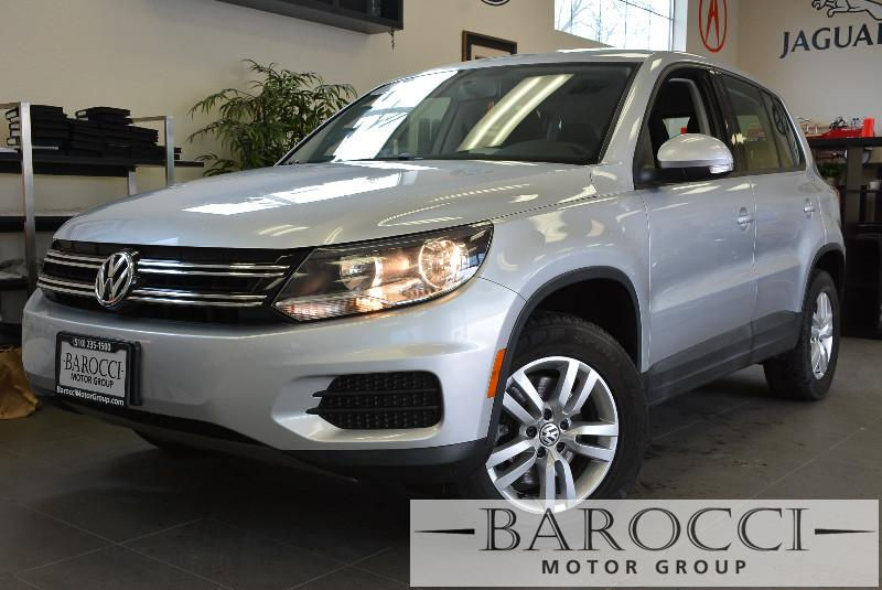 2013 Volkswagen Tiguan S 4dr SUV 6A Automatic Silver Child Safety Door Locks Power Door Locks