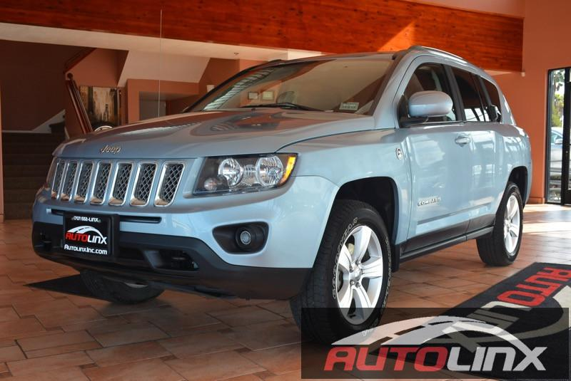 2014 Jeep Compass Latitude 4WD Continuously Variable Transmission Blue Charcoal Gas Mileage 20