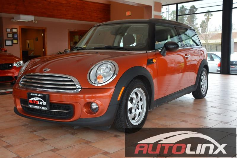2014 Mini Clubman Cooper 6-Speed Automatic  Orange Black Drive this home today Isnt it time fo