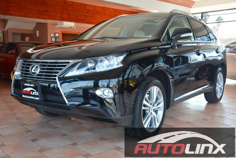 2015 Lexus RX 350 premium 5-Speed Automatic Black Black Accident free Carfax History One Owner