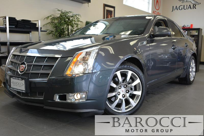 2008 Cadillac CTS 36L DI Sedan wNavigation Packag 5-Speed Automatic Gray Child Safety Door Loc
