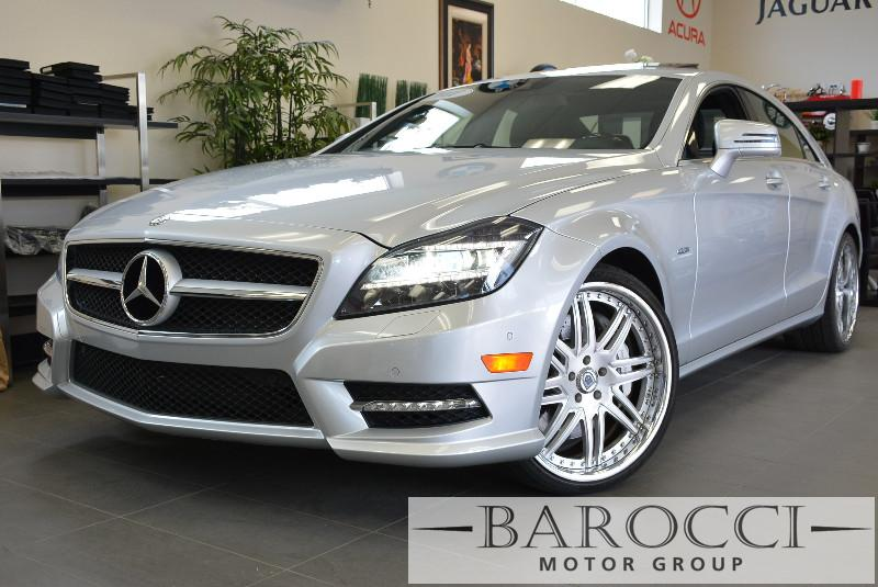 2012 MERCEDES CLS-Class CLS550 4dr Sedan 7 Speed Auto Silver 4-wheel Disc Brakes ABS Active Su