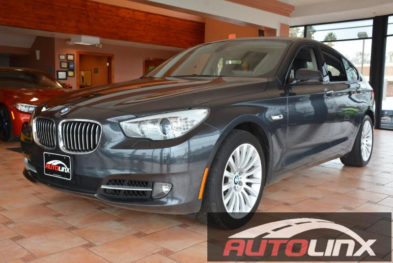 2011 BMW 5 Series 535i Gran Turismo 4dr Hatchback 8 Speed Auto Black Black Black Leather Turbo