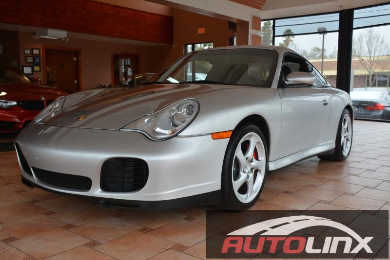 2003 Porsche 911 4S Automatic Silver Black Accident free Carfax History Completely inspected a