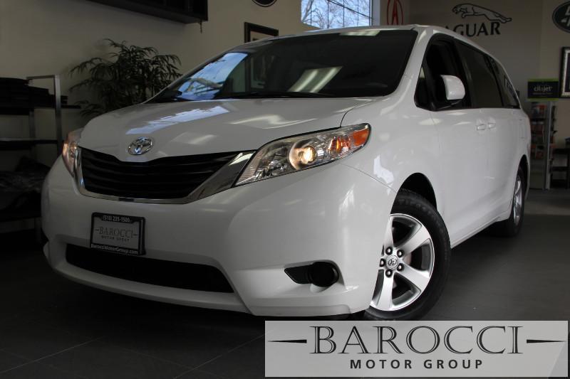 2012 Toyota Sienna LE 8-Passenger 4dr Mini-Van V6 6 Speed Auto White ABS Air Conditioning Alar