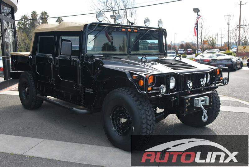 2000 AM General Hummer Open Top 4-Speed Automatic Black Gray Turbo 4X4 Fresh trade on a lambo