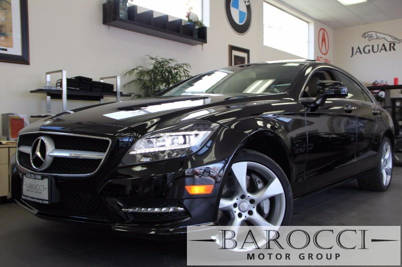 2013 MERCEDES CLS-Class CLS550 4dr Sedan Automatic Black Tan This is a beautiful CLS that still