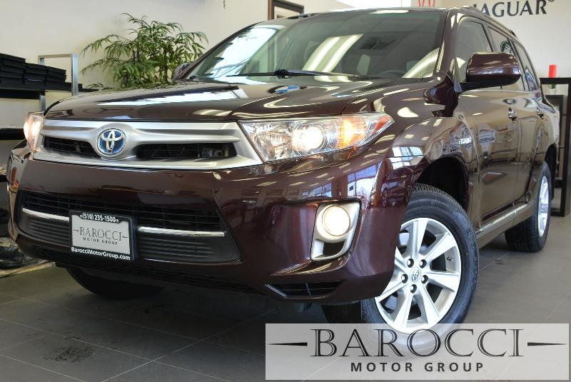 2011 Toyota Highlander Hybrid Base 4dr SUV Automatic Purple ABS Air Conditioning Alarm Alloy