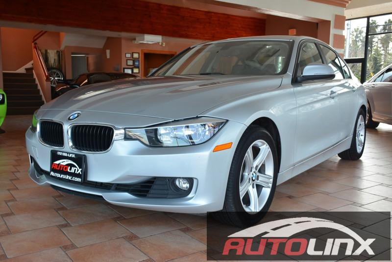 2014 BMW 3-Series 328i Sedan Automatic Silver Black Accident free Carfax History One Owner Co