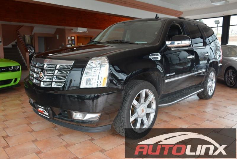 2014 Cadillac Escalade AWD-Sport Utility 4D Auto 6-Spd HD wOD Black Black Accident free Carfax