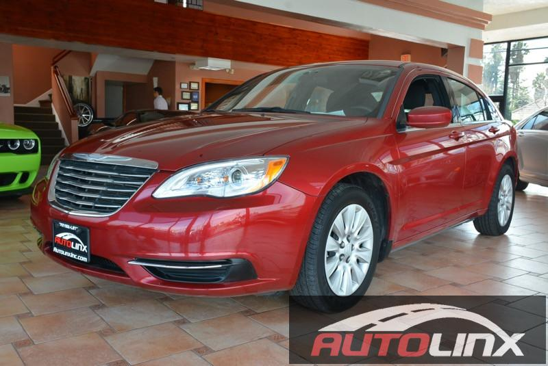 2014 Chrysler 200 LX Automatic Red Black Black Call ASAP Best color There isnt a nicer 2014